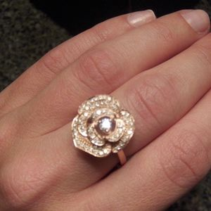 Le Vian diamond rose ring 14k